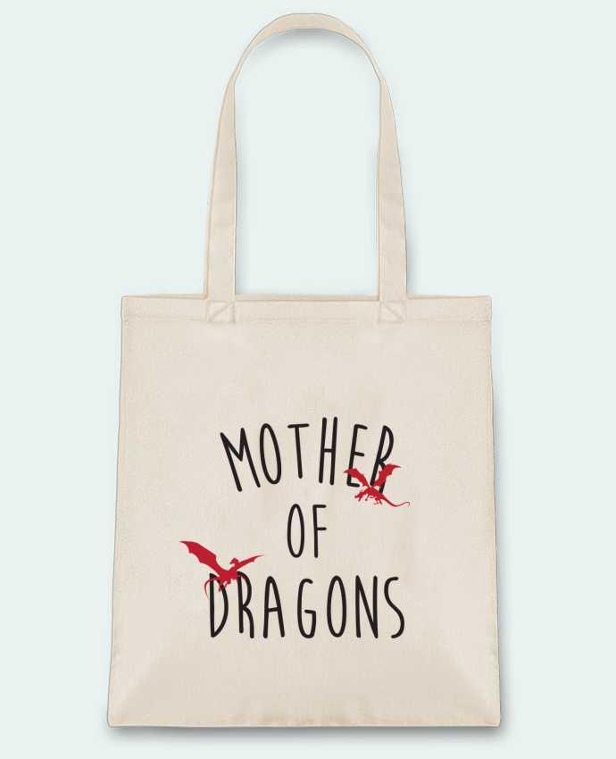Sac en Toile Coton Mother of Dragons - Game of thrones par tunetoo