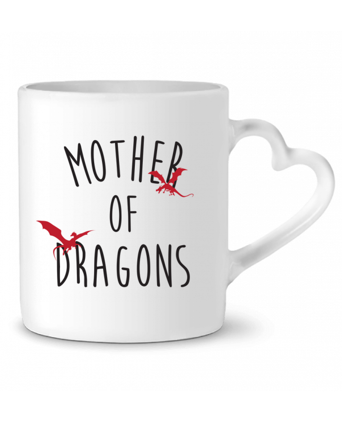 Mug Coeur Mother of Dragons - Game of thrones par tunetoo
