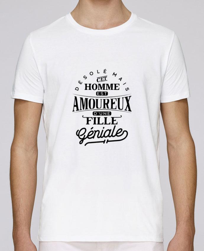 T-Shirt Col Rond Stanley Leads Amoureux fille géniale par Original t-shirt
