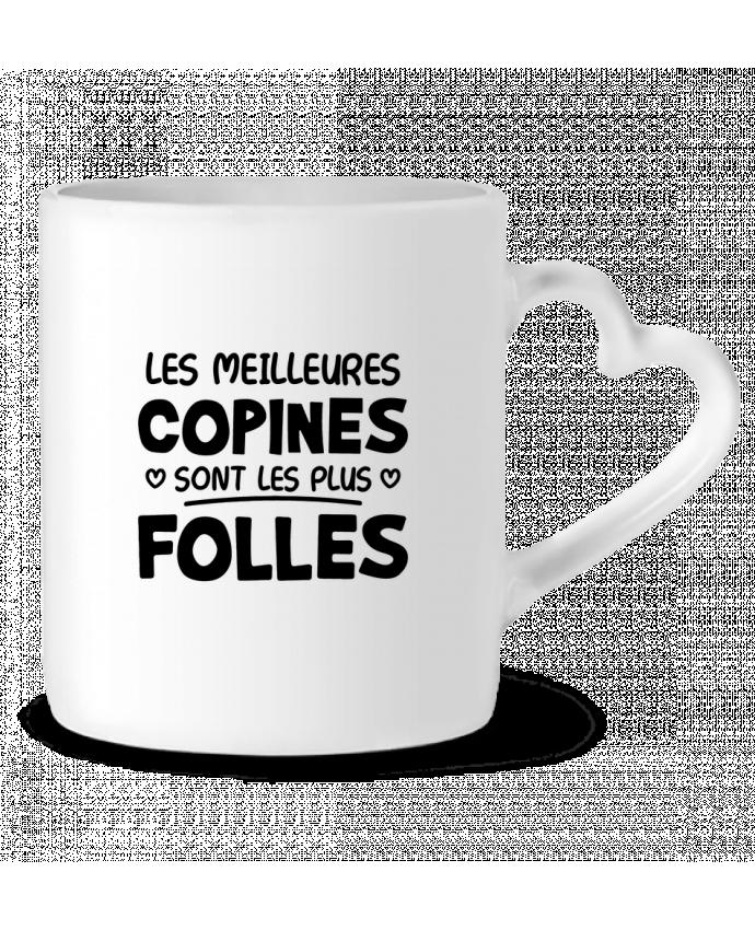Mug Coeur Les meilleures copines par Original t-shirt