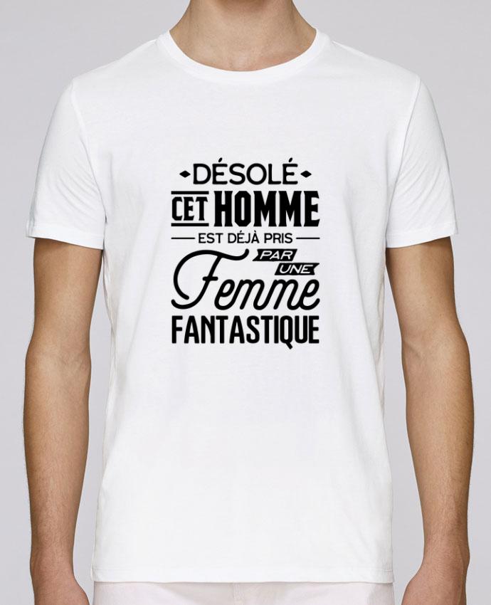 T-Shirt Col Rond Stanley Leads Une femme fantastique par Original t-shirt