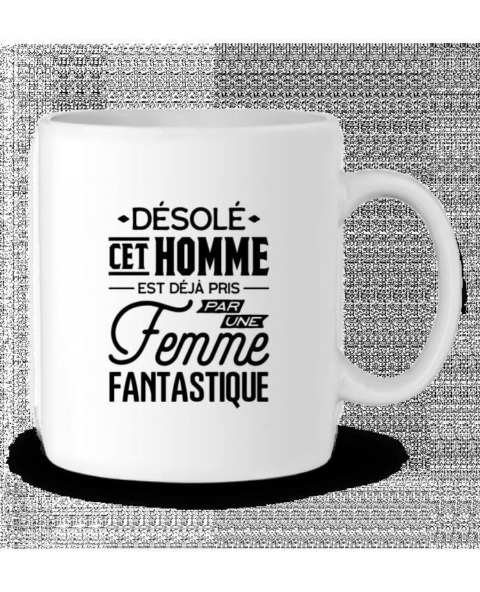 Mug en Céramique Une femme fantastique par Original t-shirt