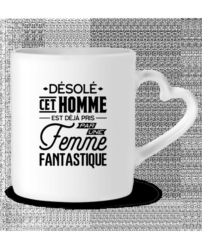 Mug Coeur Une femme fantastique par Original t-shirt