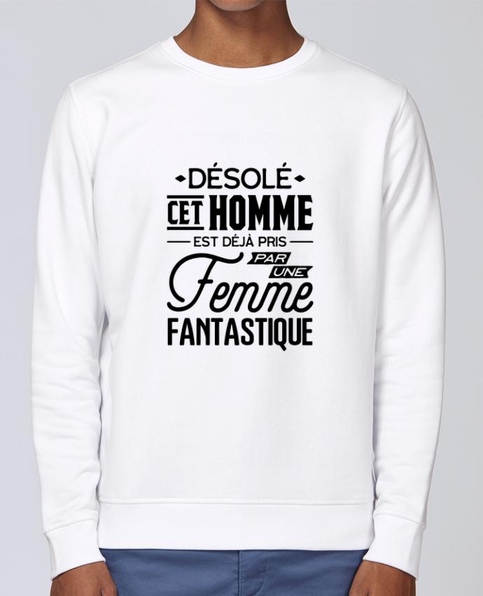 Sweat Col rond Unisex Stanley Stella Rise Une femme fantastique par Original t-shirt
