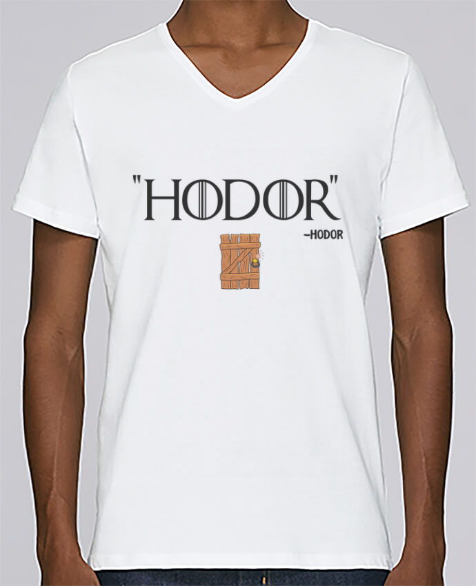 T-shirt Col V Homme Stanley Relaxes Hodor par tunetoo