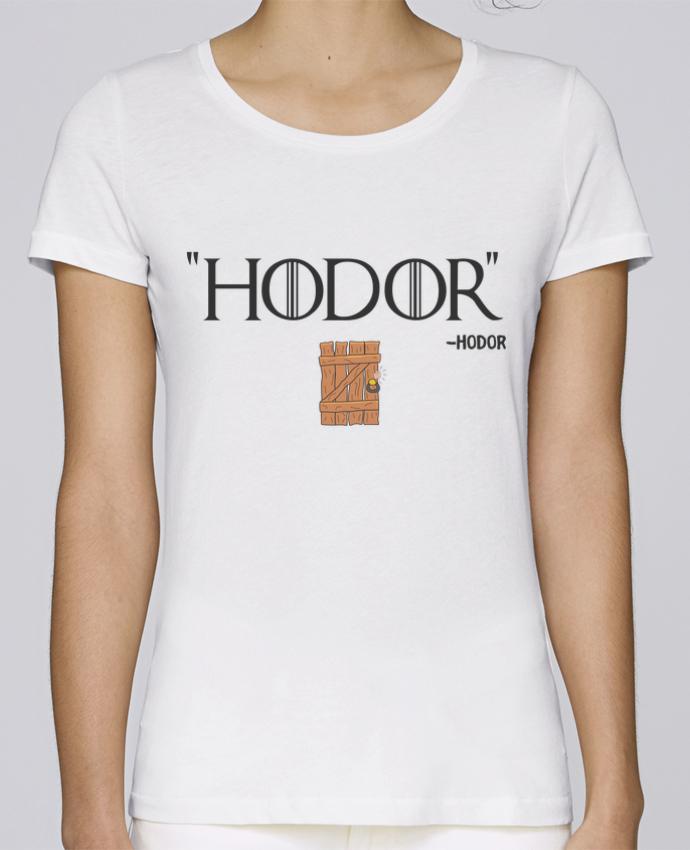 T-shirt Femme Stella Loves Hodor par tunetoo