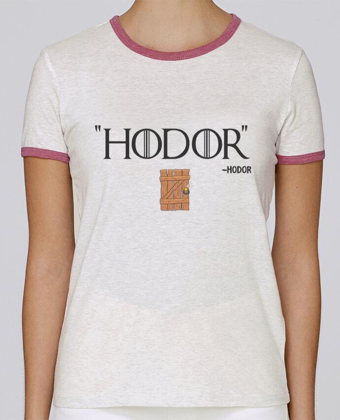 T-shirt Femme Stella Returns Hodor pour femme par tunetoo