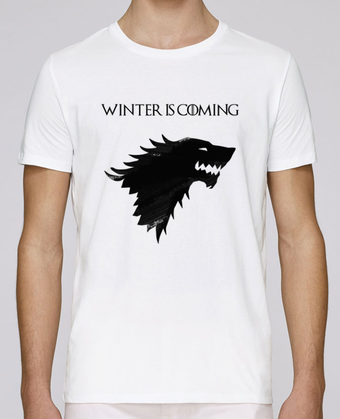 T-Shirt Col Rond Stanley Leads Winter is coming - Stark par tunetoo
