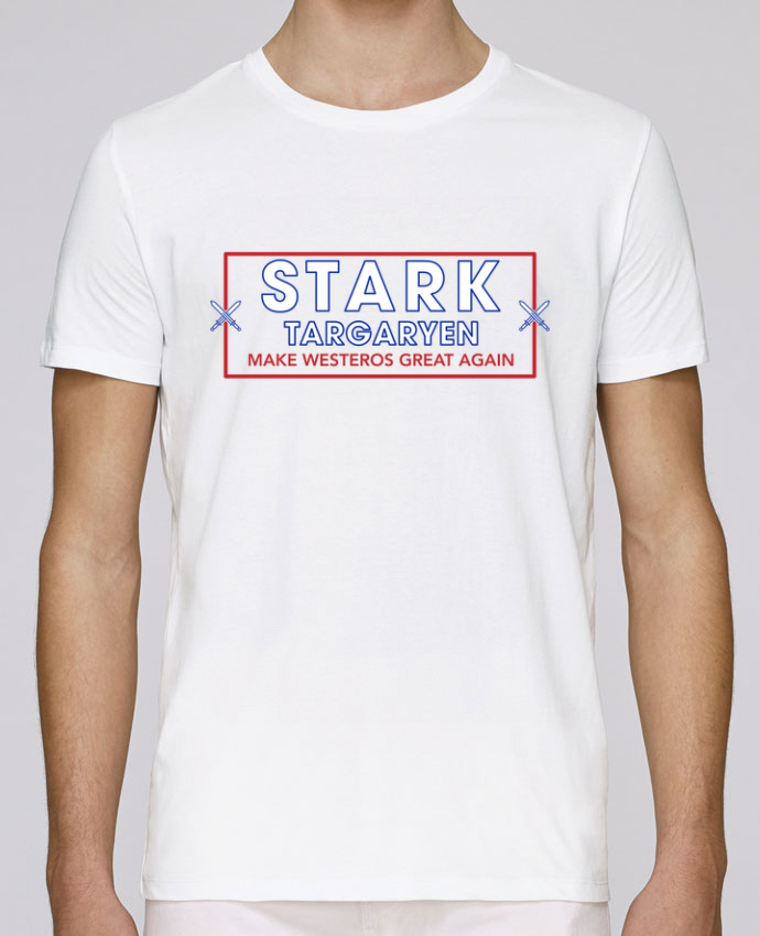 T-Shirt Col Rond Stanley Leads Make Westeros Great Again par tunetoo