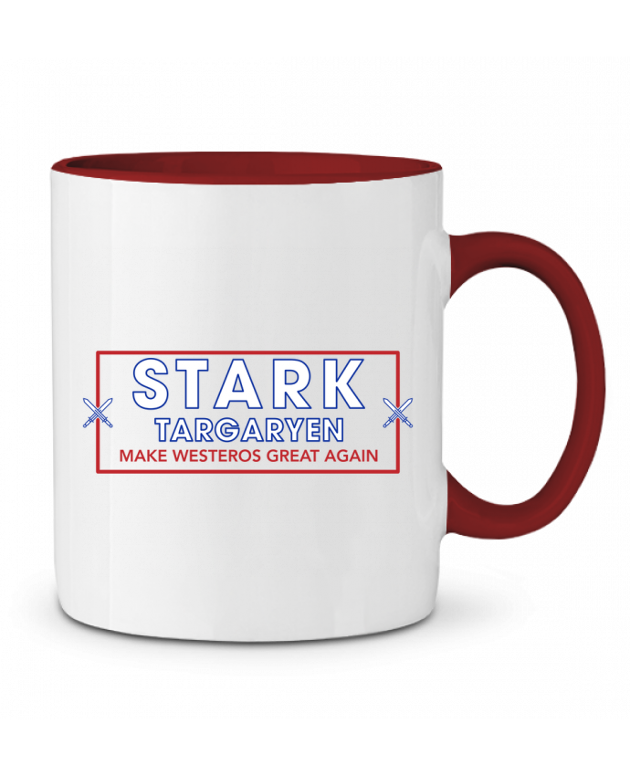 Mug en Céramique Bicolore Make Westeros Great Again tunetoo