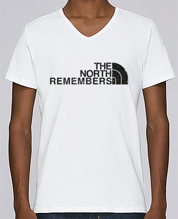 T-shirt Col V Homme Stanley Relaxes The North Remembers par tunetoo