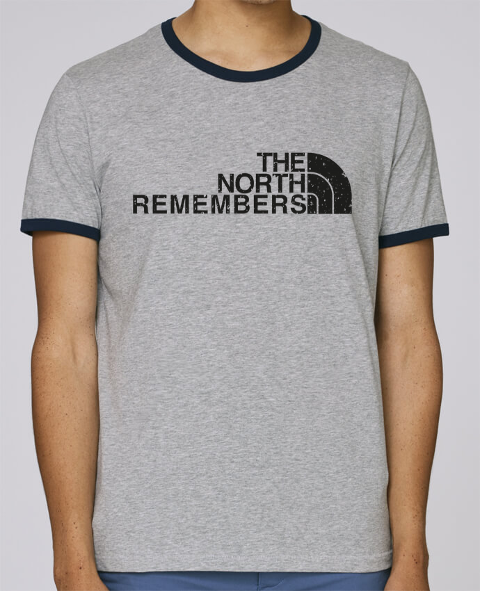 T-Shirt Ringer Contrasté Homme Stanley Holds The North Remembers pour femme par tunetoo