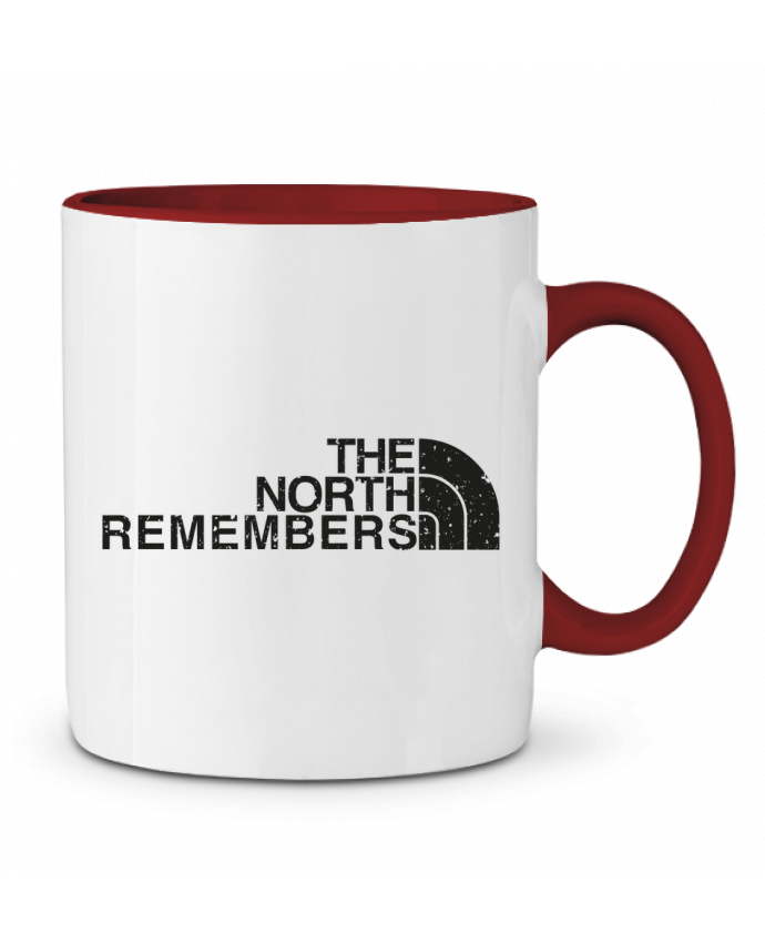 Mug en Céramique Bicolore The North Remembers tunetoo