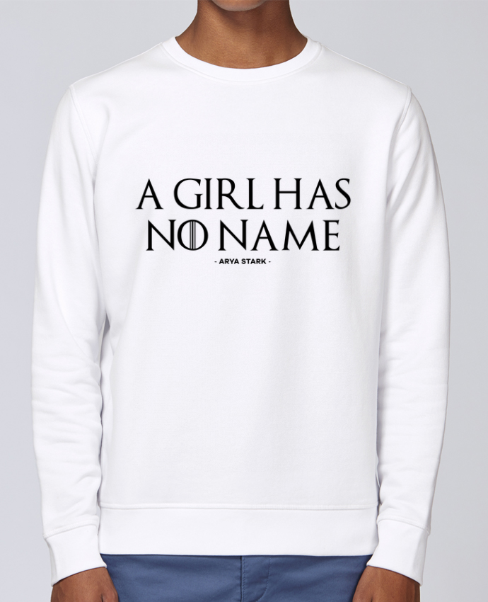 Sweat Col rond Unisex Stanley Stella Rise A girl has no name par tunetoo