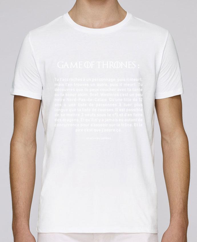 T-Shirt Col Rond Stanley Leads Résumé de Game of Thrones par tunetoo