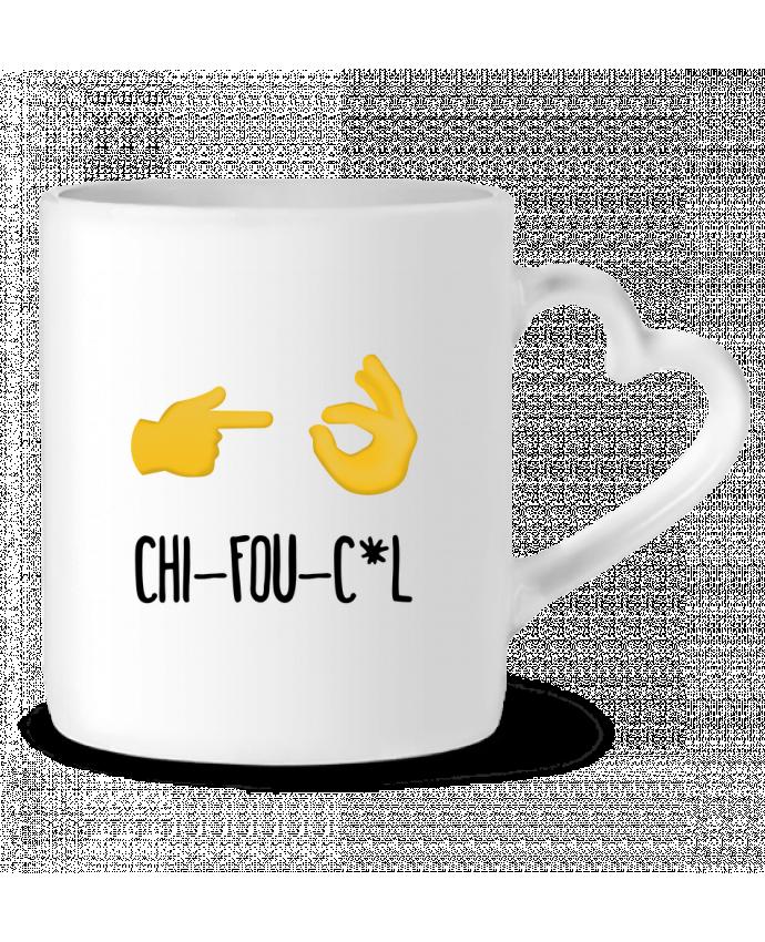Mug Coeur Chifouc*l par tunetoo