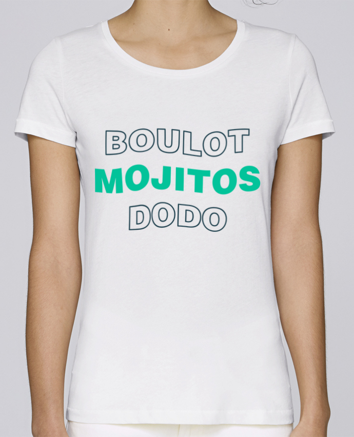 T-shirt Femme Stella Loves Boulot mojitos dodo par tunetoo