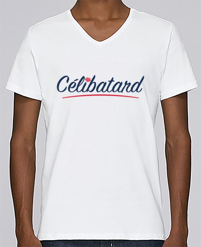 T-shirt Col V Homme Stanley Relaxes Célibatard par tunetoo