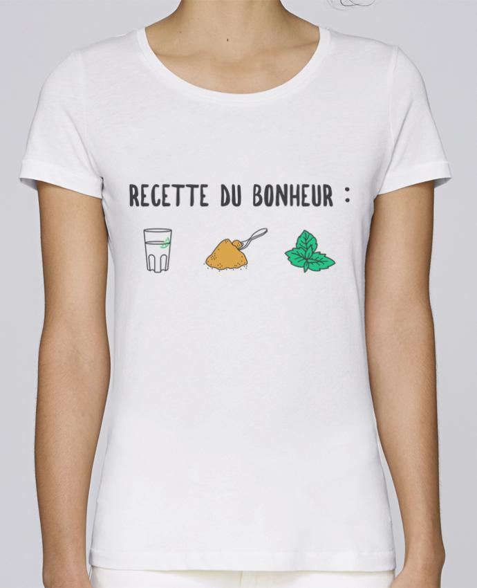 T-shirt Femme Stella Loves Recette du bonheur : Mojito par tunetoo
