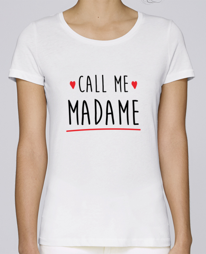 T-shirt Femme Stella Loves Call me madame evjf mariage par Original t-shirt