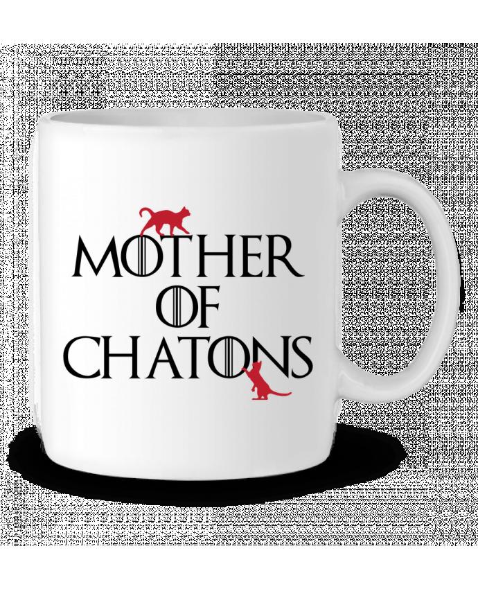 Mug en Céramique Mother of chatons par tunetoo