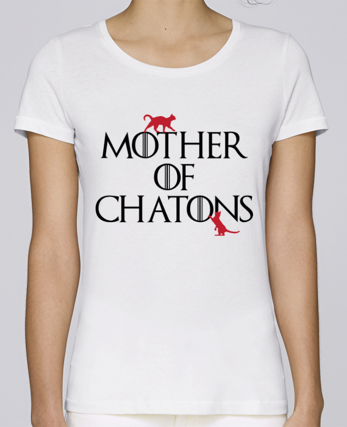T-shirt Femme Stella Loves Mother of chatons par tunetoo