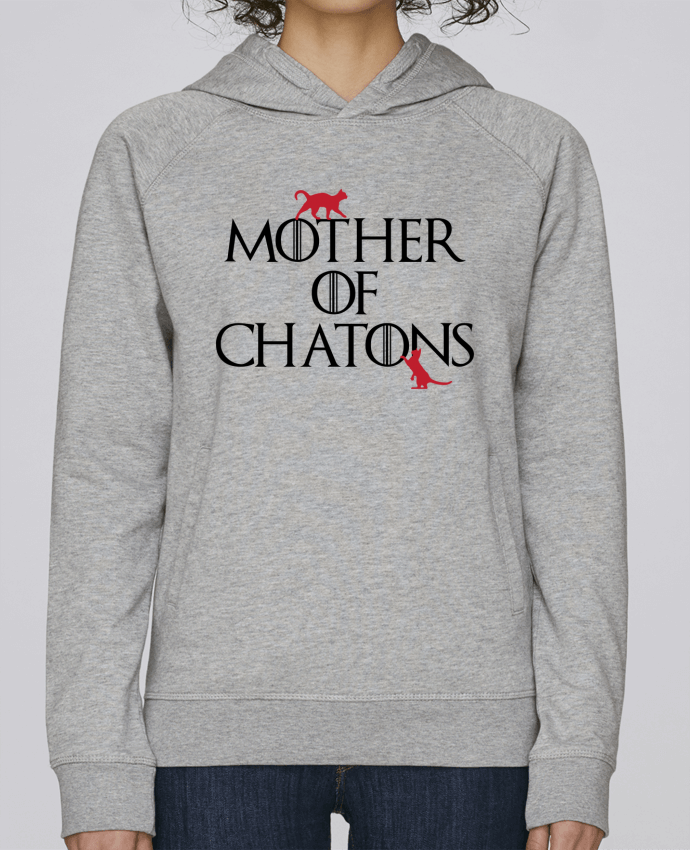 Sweat Capuche Femme Stanley Base Mother of chatons par tunetoo