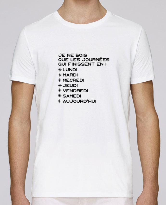 T-Shirt Col Rond Stanley Leads Les journées en i cadeau par Original t-shirt