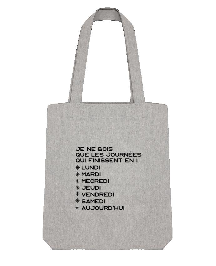 Tote Bag Stanley Stella Les journées en i cadeau par Original t-shirt