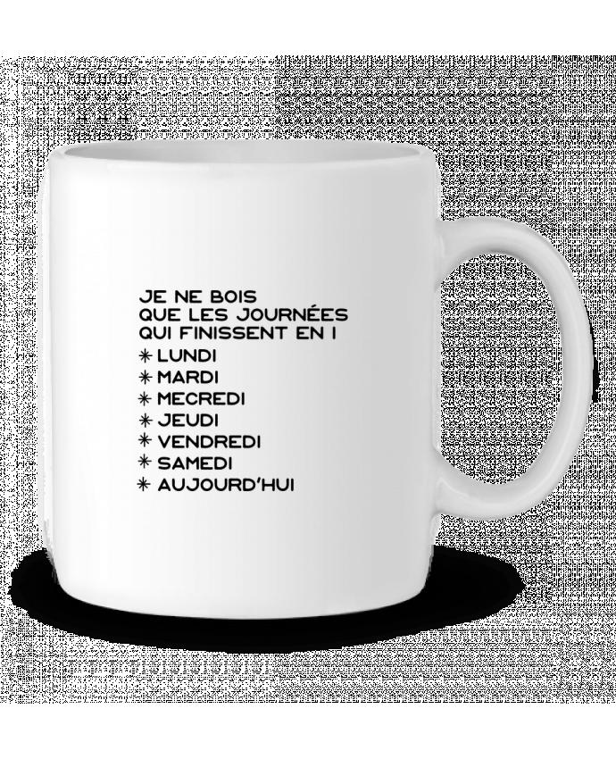 Mug en Céramique Les journées en i cadeau par Original t-shirt
