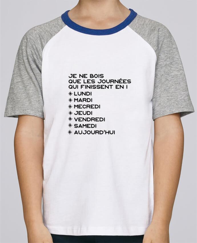 Tee-Shirt Enfant Stanley Mini Jump Short Sleeve Les journées en i cadeau par Original t-shirt