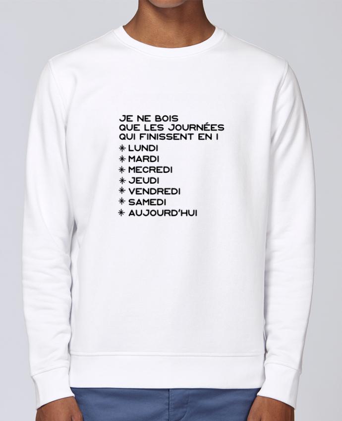 Sweat Col rond Unisex Stanley Stella Rise Les journées en i cadeau par Original t-shirt