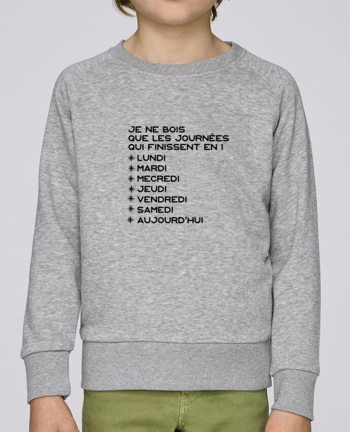 Sweat Col Rond Enfant Stanley Mini Scouts Les journées en i cadeau par Original t-shirt