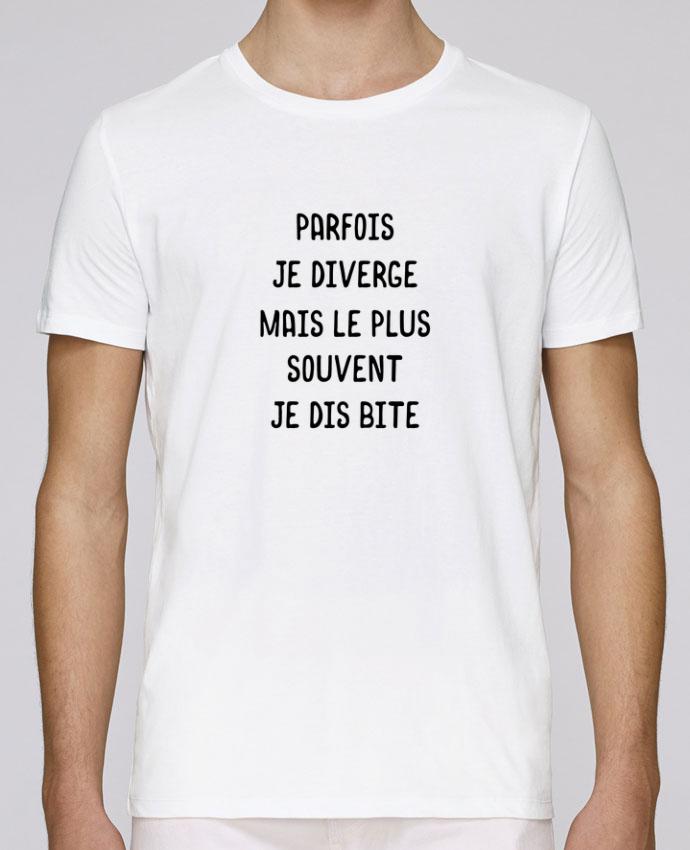 T-Shirt Col Rond Stanley Leads Parfois je diverge cadeau par Original t-shirt