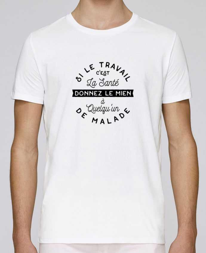T-Shirt Col Rond Stanley Leads Le travail c