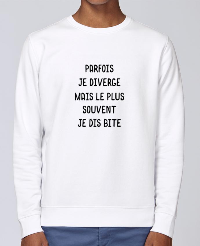 Sweat Col rond Unisex Stanley Stella Rise Parfois je diverge cadeau par Original t-shirt