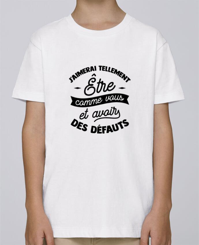 Tee Shirt Garçon Stanley Mini Paint J'aimerai être comme vous cadeau par Original t-shirt