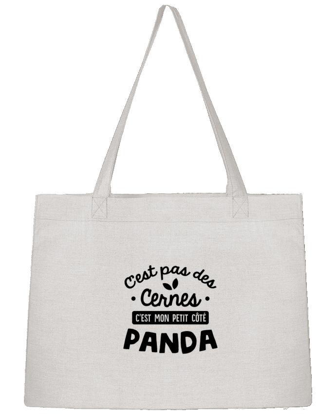 Sac Cabas Shopping Stanley Stella C'est pas des cernes cadeau par Original t-shirt