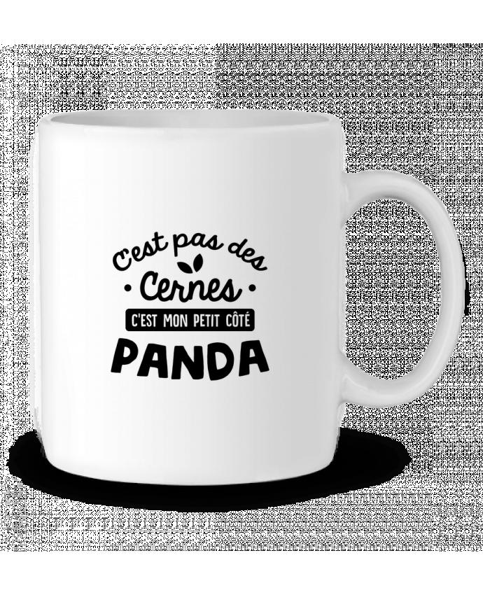 Mug en Céramique C'est pas des cernes cadeau par Original t-shirt