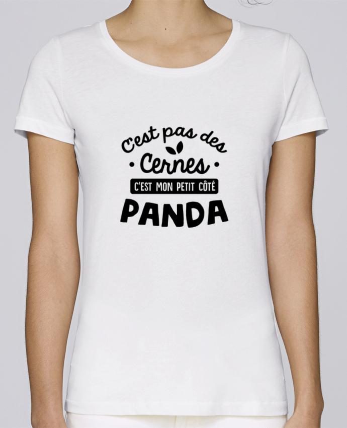 T-shirt Femme Stella Loves C'est pas des cernes cadeau par Original t-shirt