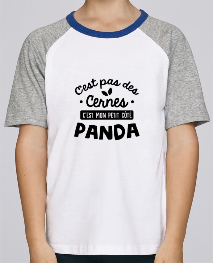 Tee-Shirt Enfant Stanley Mini Jump Short Sleeve C'est pas des cernes cadeau par Original t-shirt
