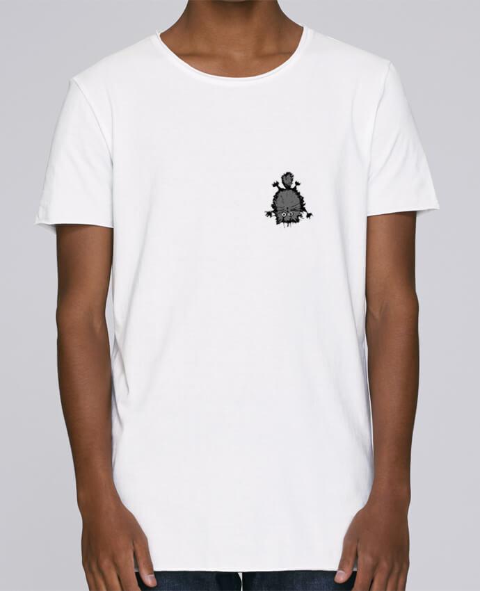 T-shirt Homme Oversized Stanley Skates Chat par caroline.c