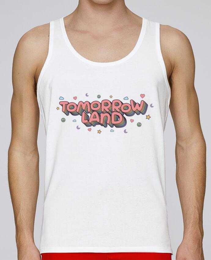 Débardeur Bio Homme Stanley Runs Tomorrowland par tunetoo 100% coton bio