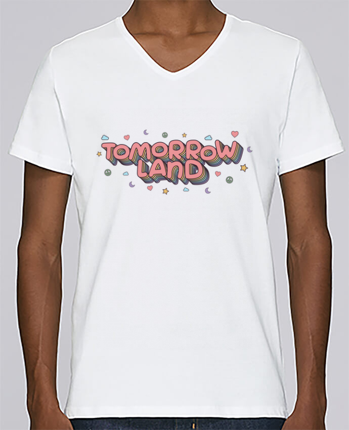 T-shirt Col V Homme Stanley Relaxes Tomorrowland par tunetoo