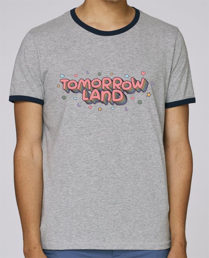 T-Shirt Ringer Contrasté Homme Stanley Holds Tomorrowland pour femme par tunetoo