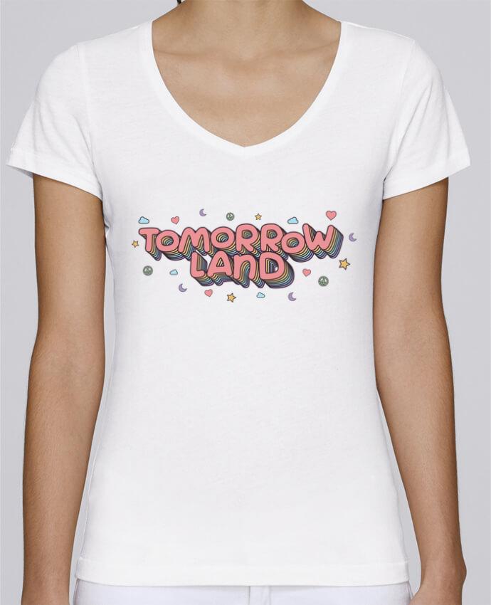 T-shirt Femme Col V Stella Chooses Tomorrowland par tunetoo