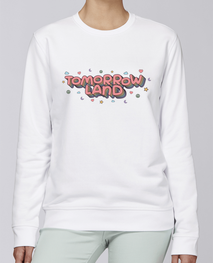 Sweat Col rond Unisexe Stanley Stella Rise Tomorrowland par tunetoo