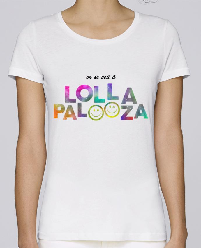 T-shirt Femme Stella Loves On se voit à Lollapalooza par tunetoo