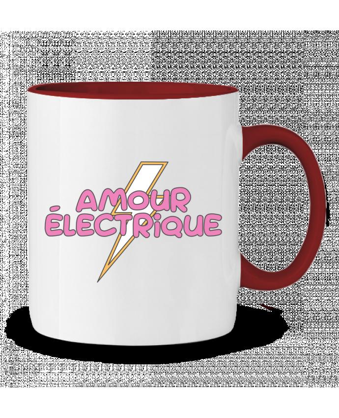 Mug en Céramique Bicolore Amour électrique tunetoo