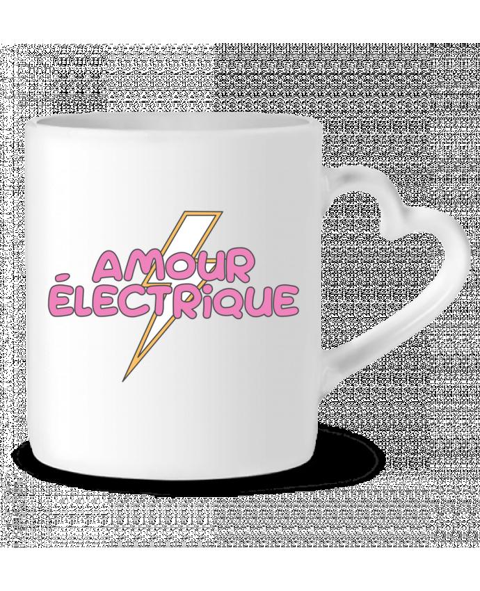 Mug Coeur Amour électrique par tunetoo